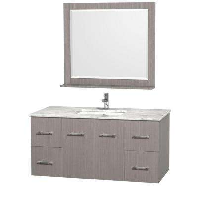 Inch Vanities Floating Bathroom Vanities Bath The Home Depot - Home depot bathroom vanities 48 inch