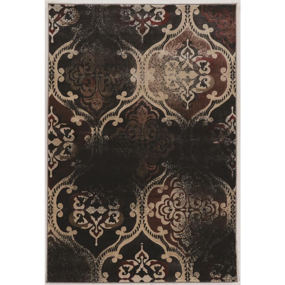 Linon home decor jewell collection vintage k arthur rt 5 ft x 8 ft rectangle area rug - Vintage home decorating collection ...