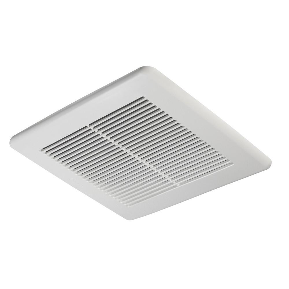 Slim Series 100 CFM Ceiling or Wall Bathroom Exhaust Fan, ENERGY STAR