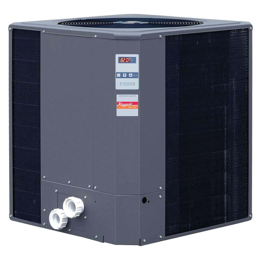 Raypak R6350ti E Hc 110 000 Btu Heat Pump 013309 The