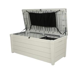 Keter 120 Gal Pool Storage Deck Box 236781 The Home Depot