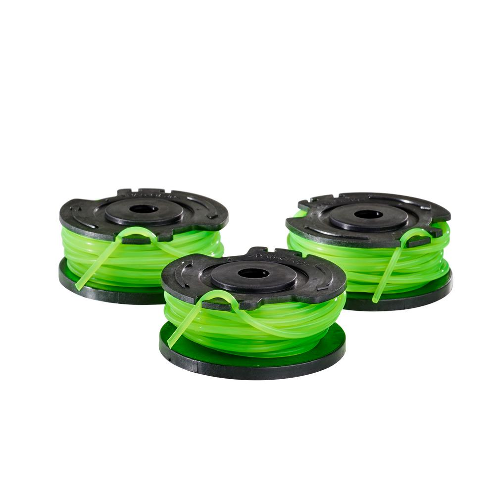 Toro 0.080 in. Single Line Replacement Spool for 13 in. 40-Volt Trimmers (3-Pack)