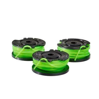 0.080 in. Single Line Replacement Spool for 13 in. 40-Volt Trimmers (3-Pack)