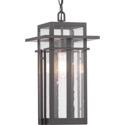 Boxwood Collection Antique Bronze 1-Light Hanging Lantern