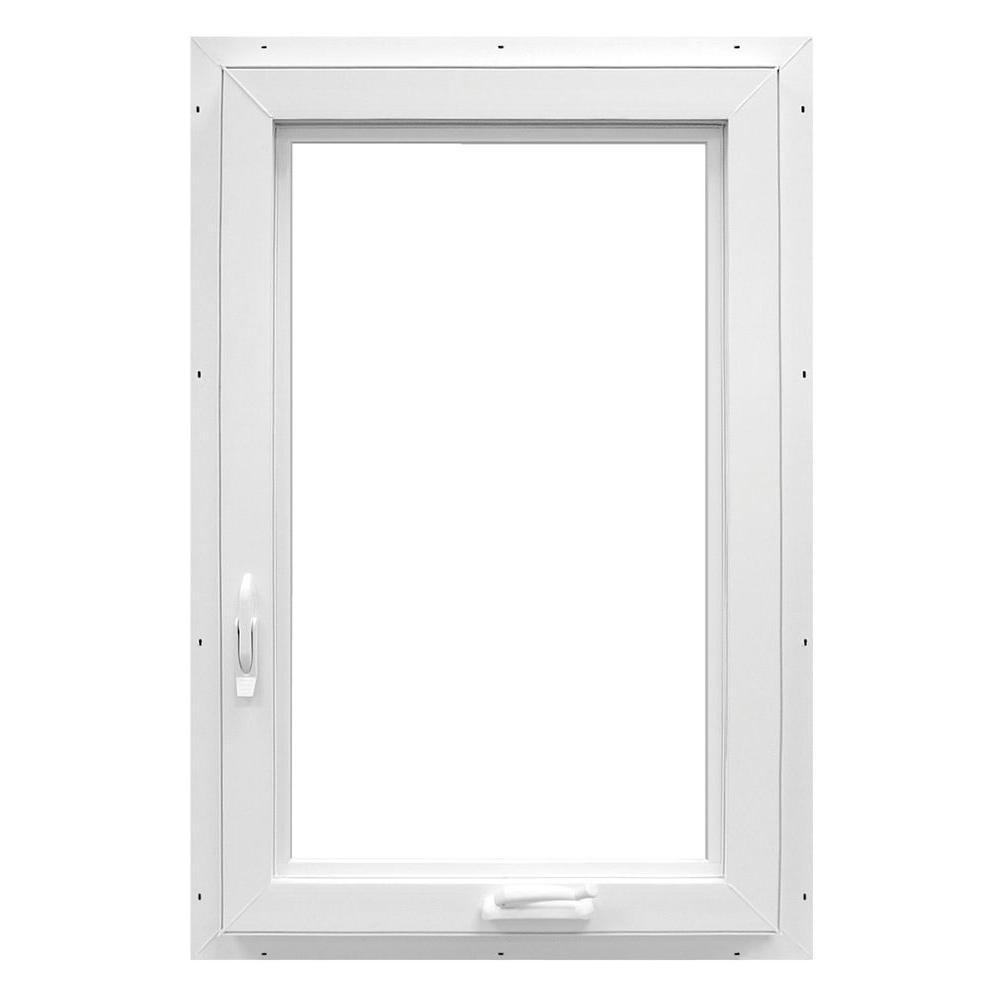 28.4 in. x 48 in. 70 Series Casement Left Hand Vinyl