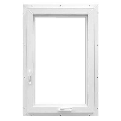 28.4 in. x 48 in. 70 Series Casement Right Hand Vinyl Window - White