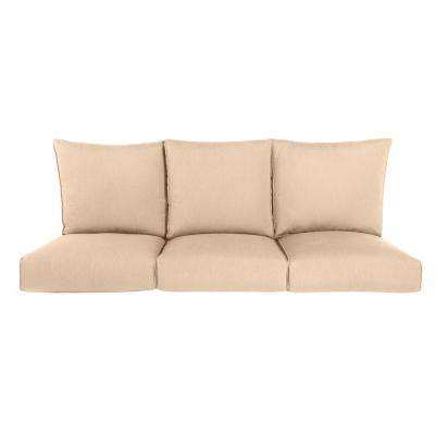Highland Replacement Outdoor Sofa Cushion in Harvest
