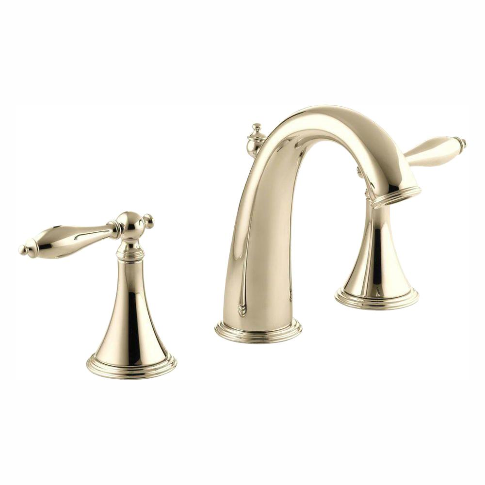 Kohler Finial Traditional 8 In Widespread 2 Handle High