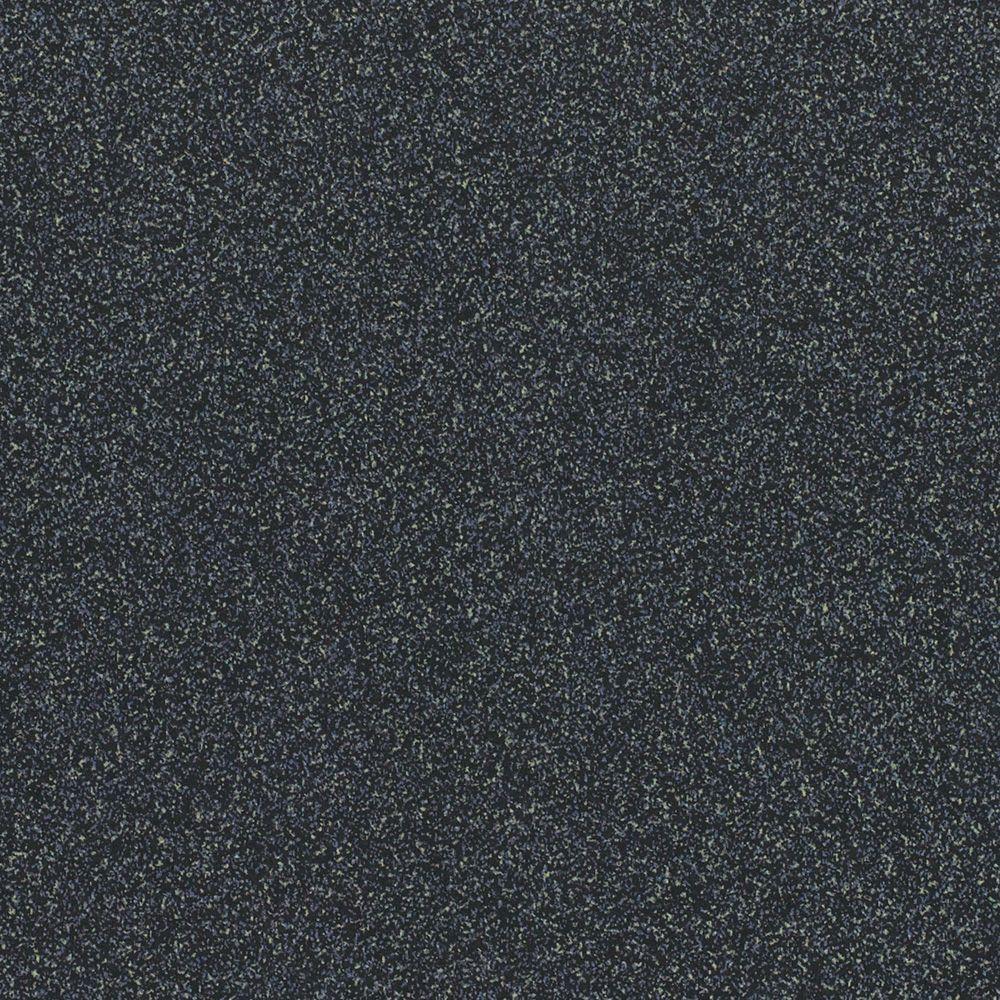 Wilsonart 2 in. x 3 in. Laminate Countertop Sample in Graphite Nebula with Standard Matte Finish