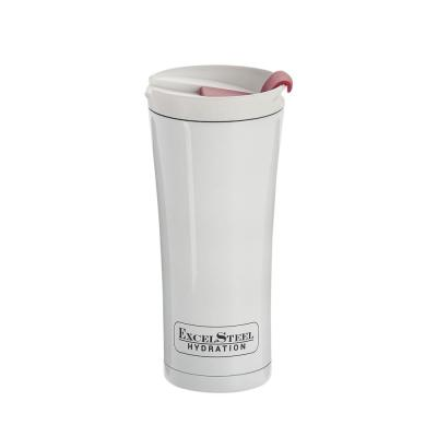 16 oz. White Double Walled Coffee Tumbler