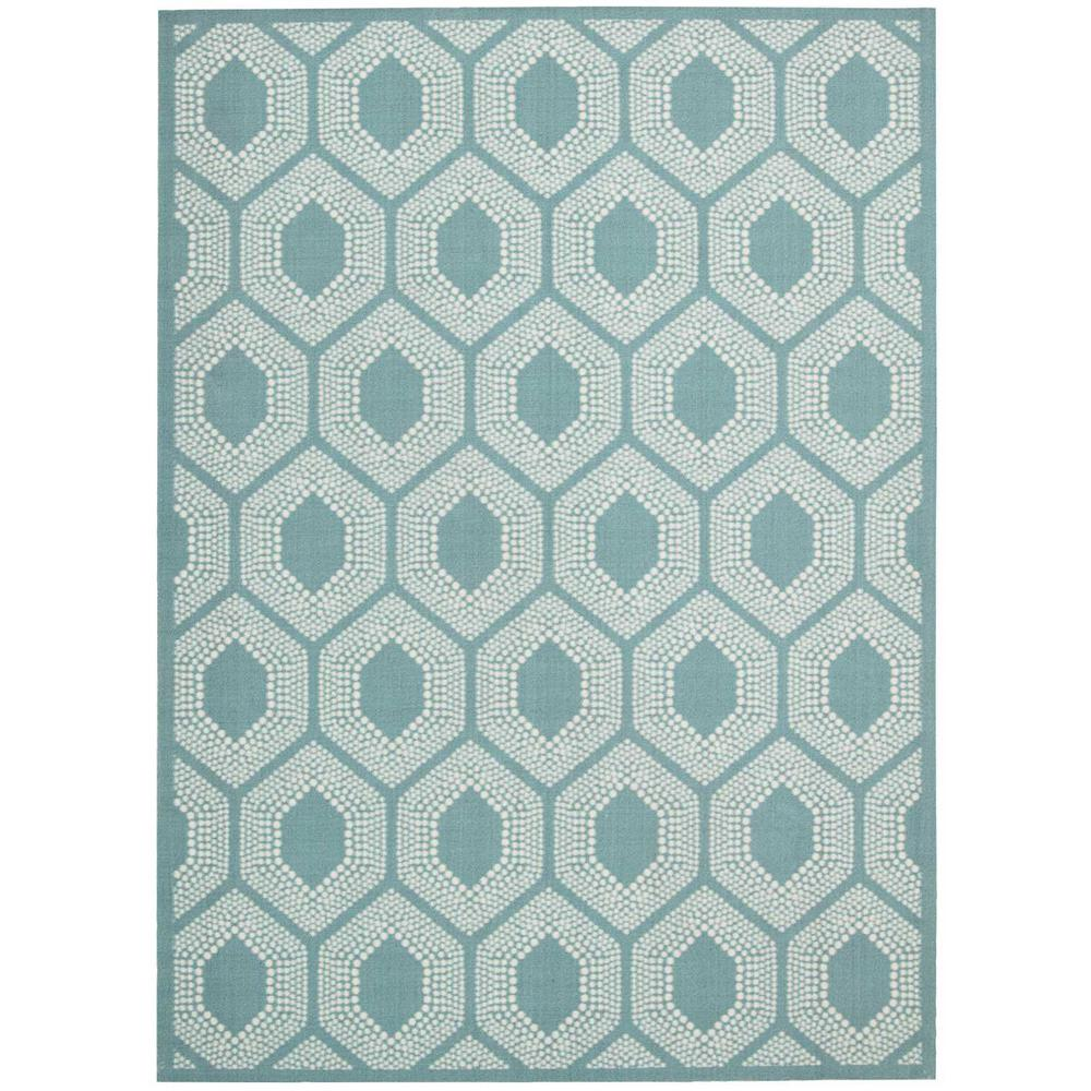 Surfboard Area Rugs: Waverly Bubbly Surf 5 Ft. X 7 Ft. Indoor/Outdoor Area Rug