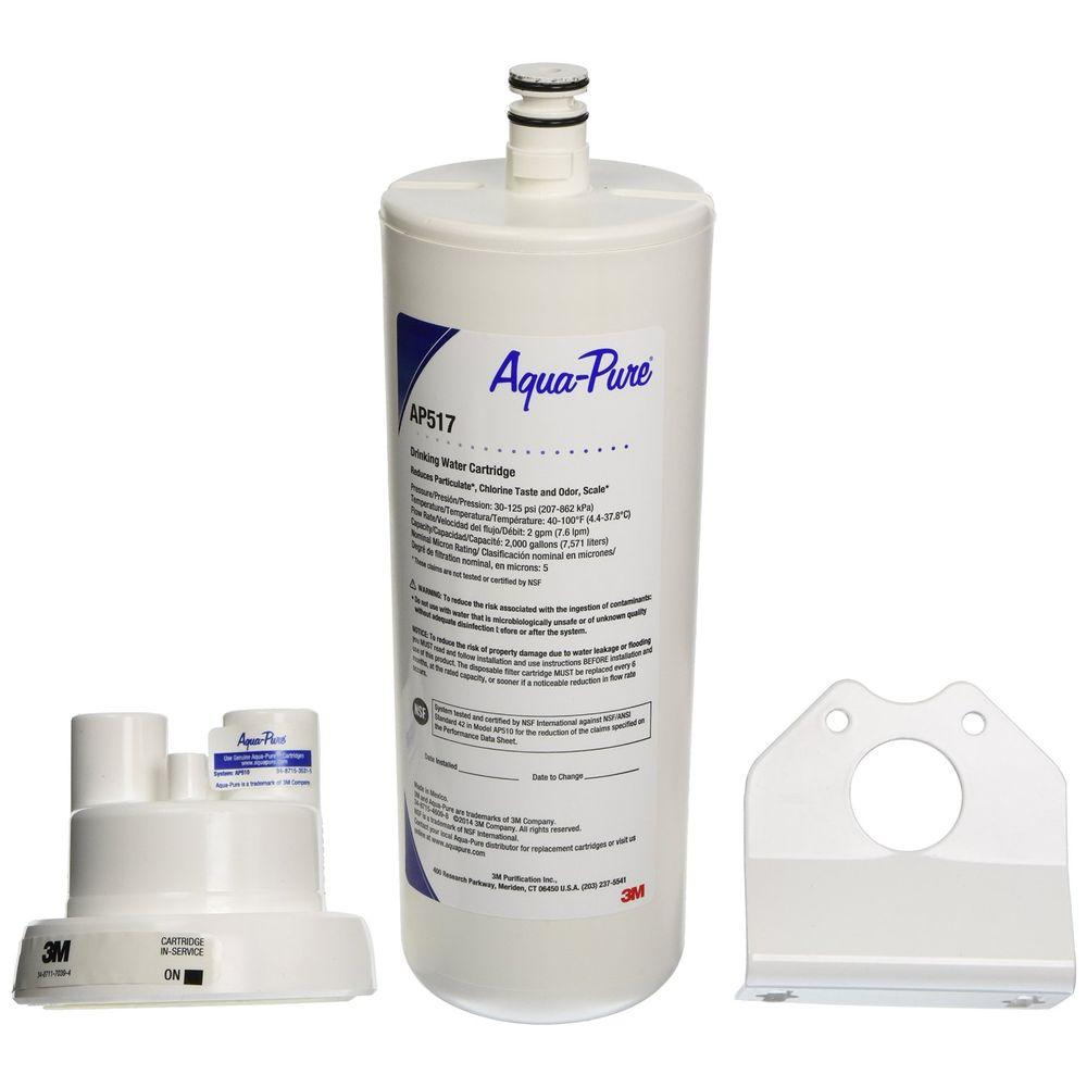 AquaPure 10 in  x 3 5 in  Undersink Filter Replacement Cartridge