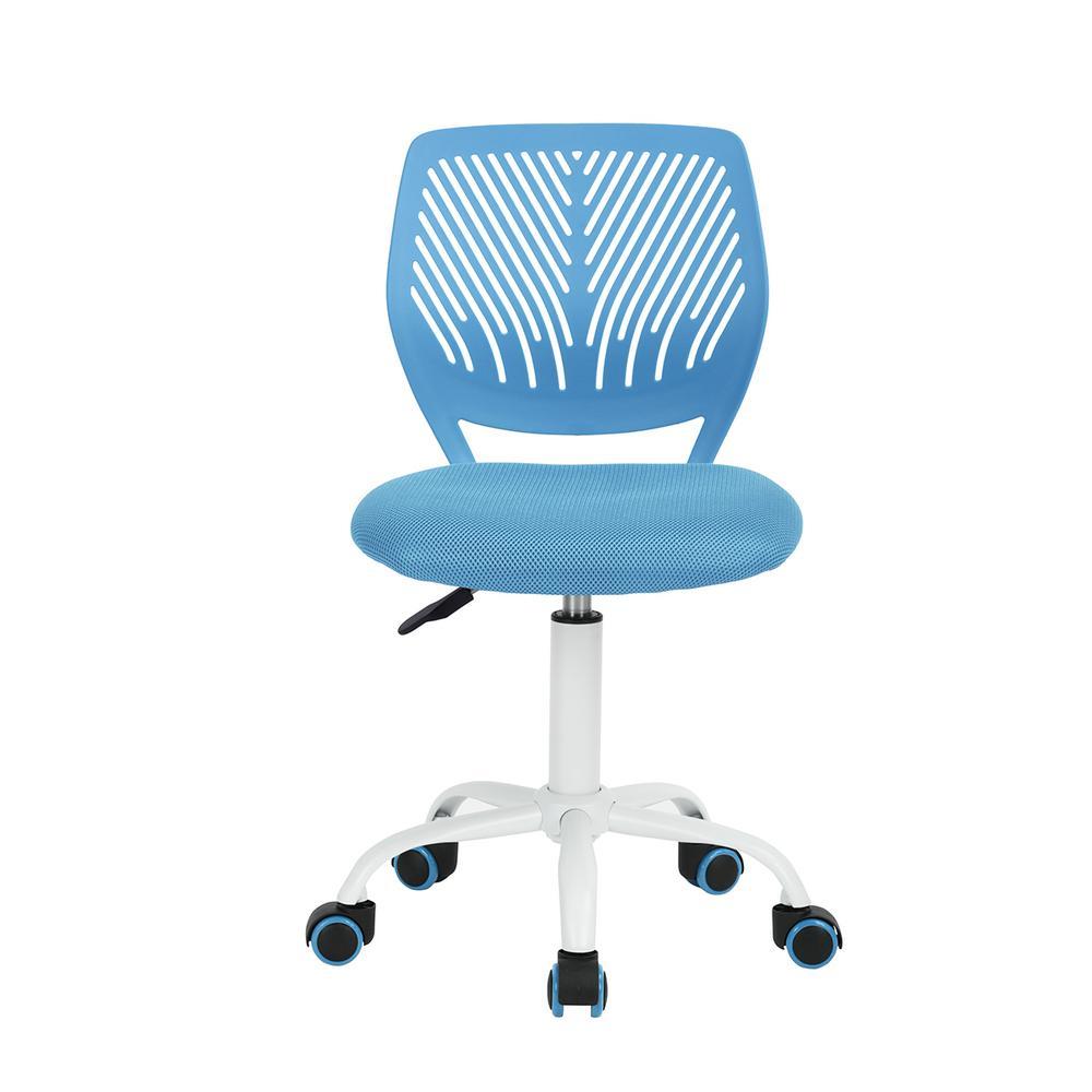 Carnation Blue Upholstery Task Chair