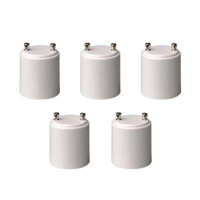GU24 to Standard Bulb Adapter (5-Pack)