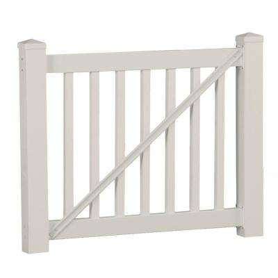 Walton 3 ft. H x 60 in. W Tan Vinyl Gate Railing Kit
