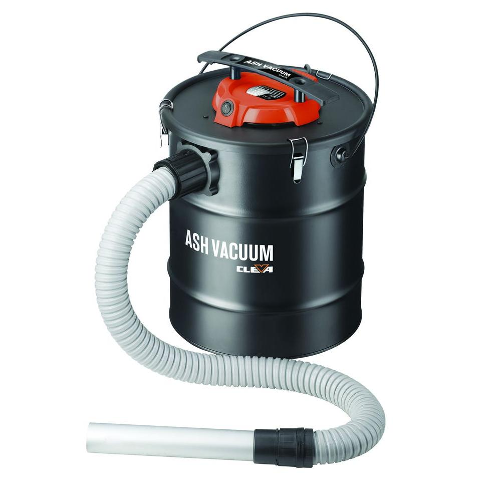 null Cleva 5.8-gal. Ash Vacuum with Cartridge Filter and Pre Filter