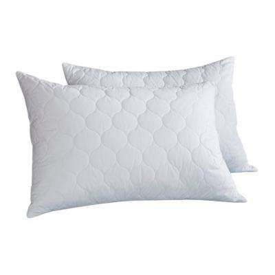 Quilted Feather & Down Jumbo Pillow (Set of 2)