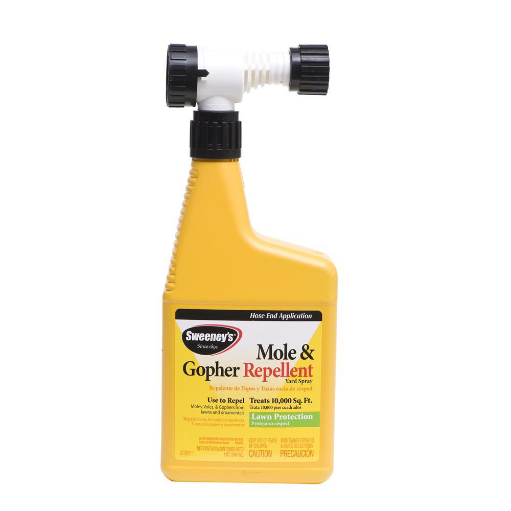 Sweeney's 1 Qt. Ready-to-Spray Mole And Gopher Repellent