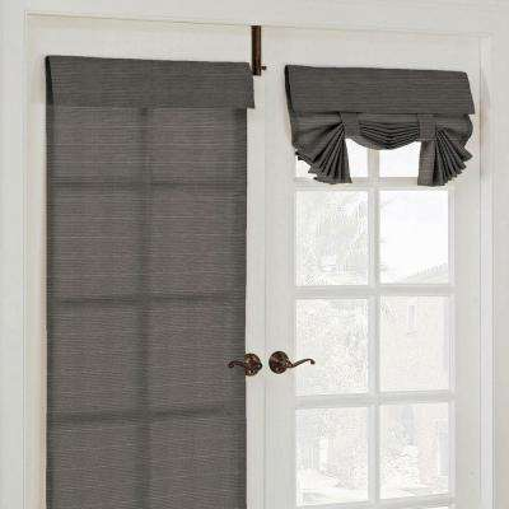 Key Largo French Door Window Panel in Smoke - 26 in. W x 68 in. L