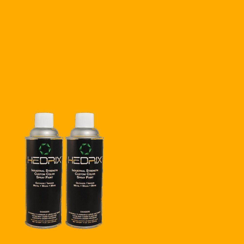 Hedrix 11 oz. Match of S-G-330 Instant Delight Gloss Custom Spray Paint (2-Pack)