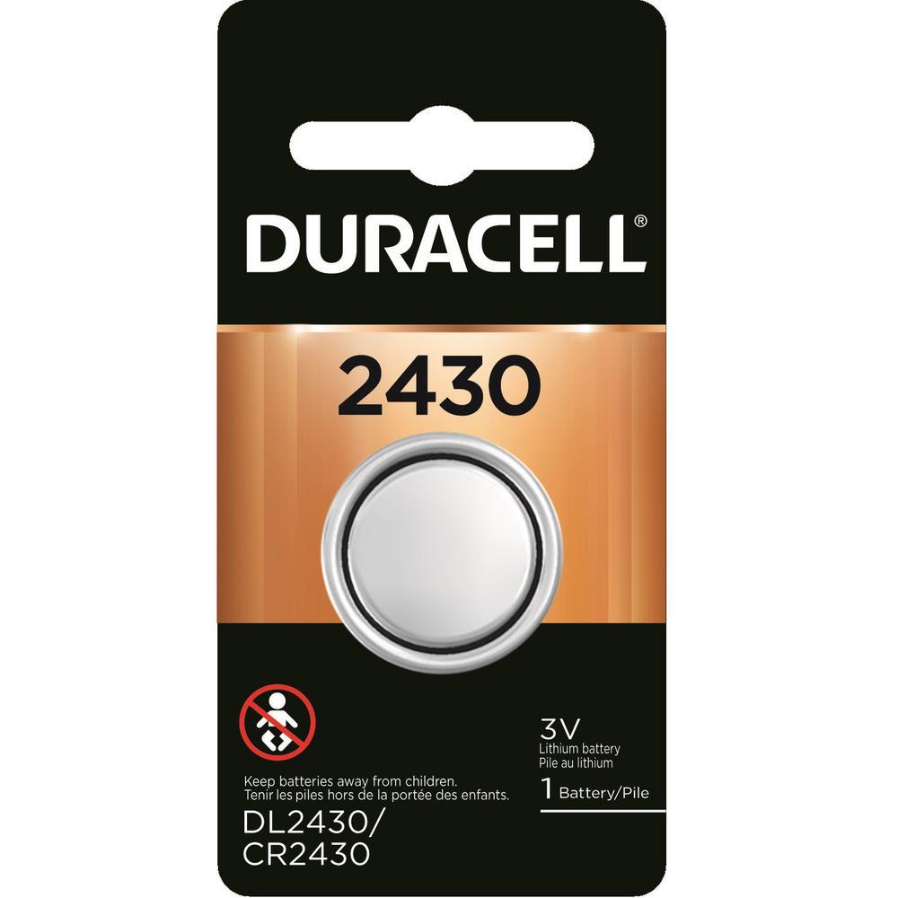 Coppertop 2430 Lithium 3-Volt Coin Battery