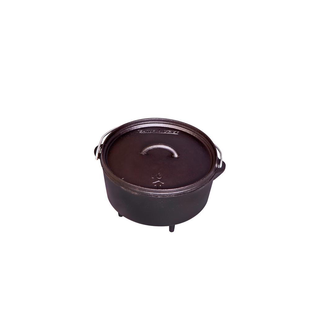 Classic Preseasoned Cast Iron 10 in. Deep Dutch Oven