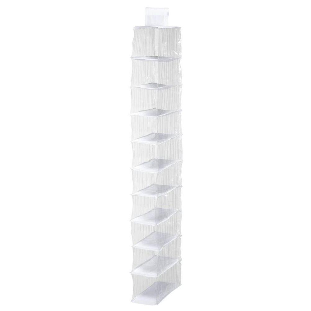 10-Shelf Peva Shoe Organizer