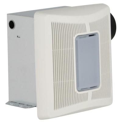 InVent Series 50 CFM Single Speed Ceiling Installation Bathroom Exhaust Fan with Light