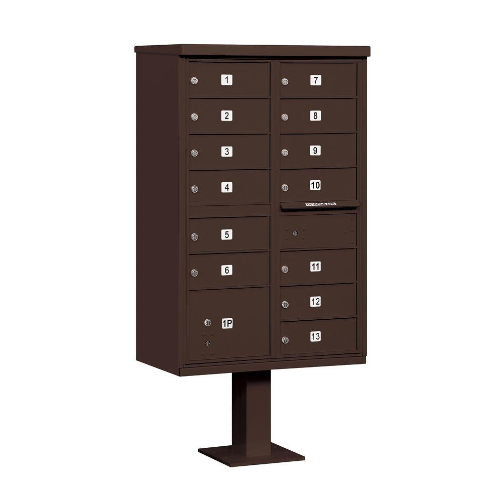 3300 Series Bronze Private 13 B Size Doors Type IV Cluster