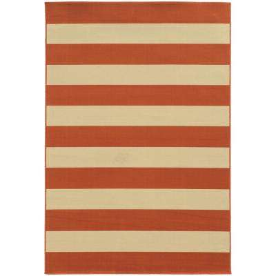 Orange - 4 X 6 - Outdoor Rugs - Rugs - The Home Depot