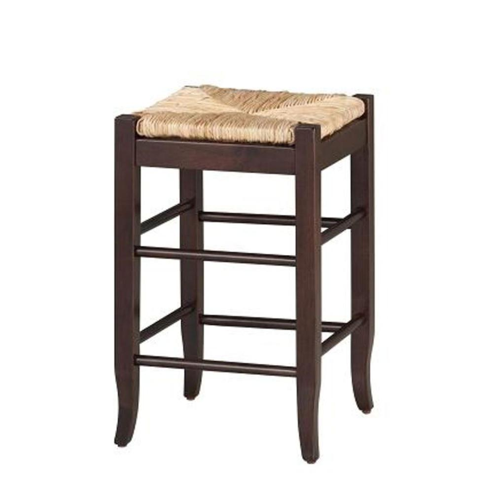 Boraam 24 In Cappuccino Bar Stool 94824 The Home Depot