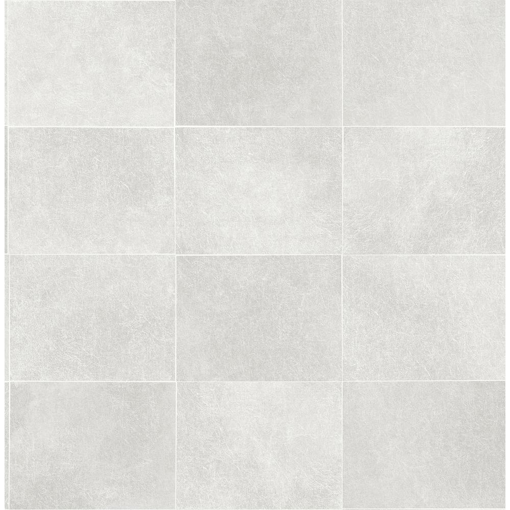 Cecelia Light Grey Geometric Wallpaper
