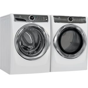 Electrolux 8 0 cu  ft  White Electric Dryer with Steam, Predictive Dry,  ENERGY STAR
