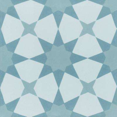 Taza 7-7/8 in. x 7-7/8 in. Cement Handmade Floor and Wall Tile