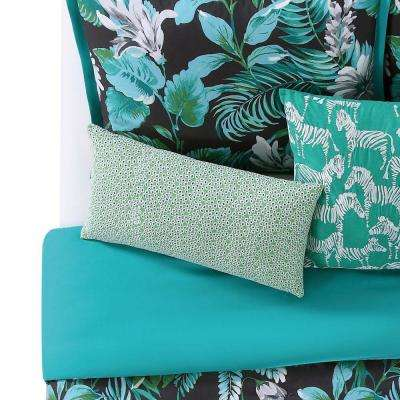 Tropicalia 12 in. x 22 in. Eyelet Pillow