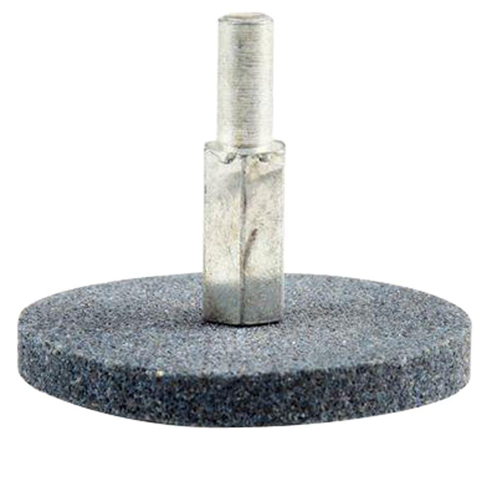 2 in. x 1/4 in. Black Aluminum Oxide Grinding Wheel