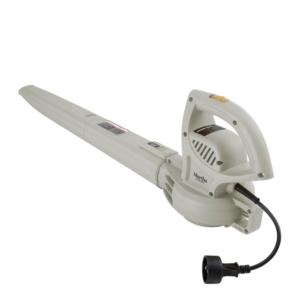 155 MPH 200 CFM 6 Amp Electric All Purpose Blower in Slate