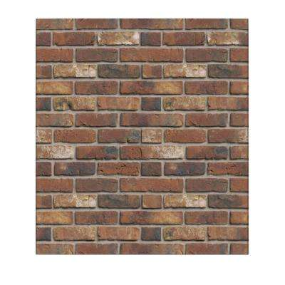 Falkirk Jura 3/10 in. x 28 in. x 30 in. Tawny Brown Faux Bricks PE Foam Peel-and-Stick Wall Panel (5-Pack)