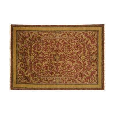 Colette Red 10 ft. x 14 ft. Area Rug