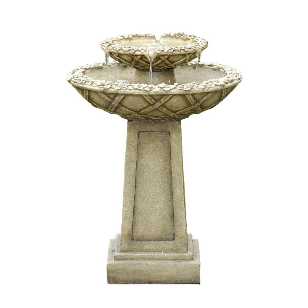 Bird Bath Outdoor Water Fountain