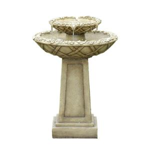 Fountain Cellar Bird Bath Outdoor Water Fountain by Fountain Cellar