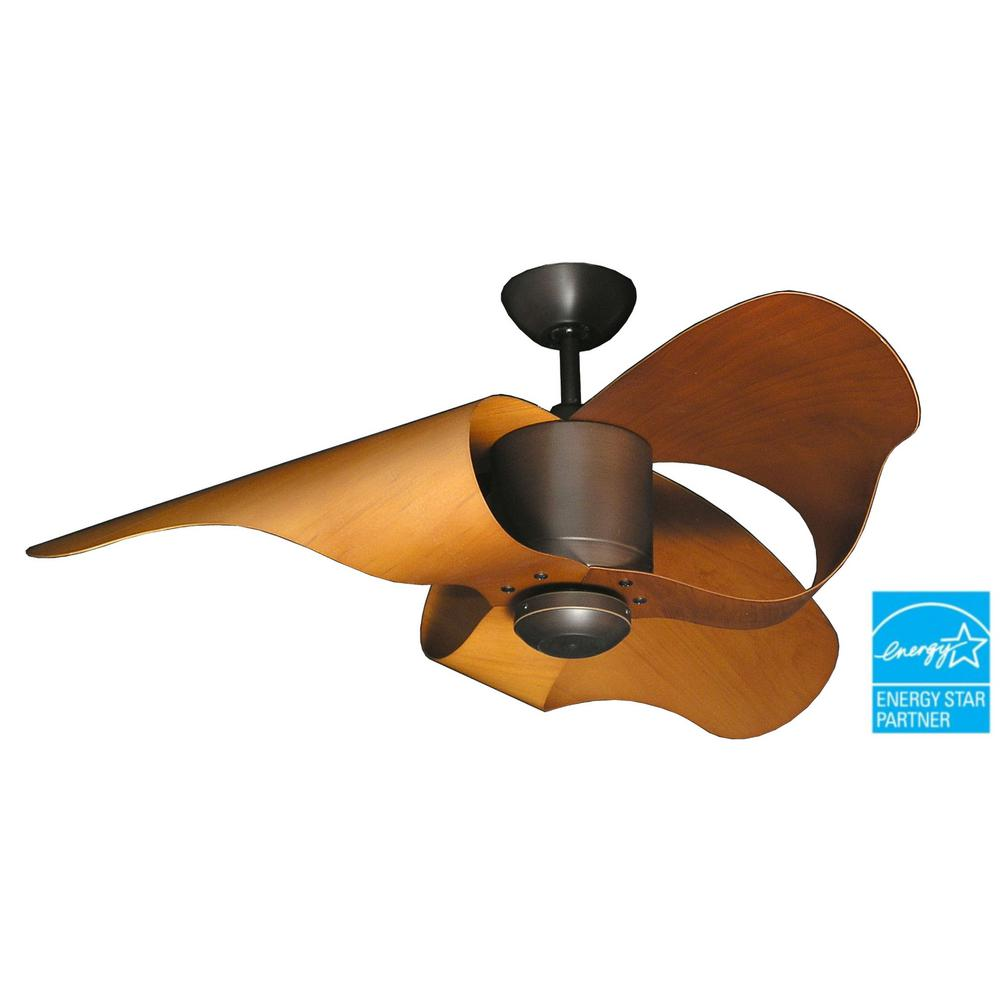 TroposAir The L.A. 44 in. Oil Rubbed Bronze Indoor/Outdoor Ceiling Fan