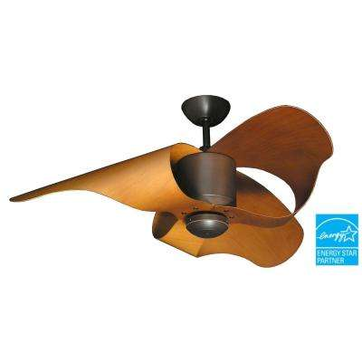 The L.A. 44 in. Oil Rubbed Bronze Indoor/Outdoor Ceiling Fan
