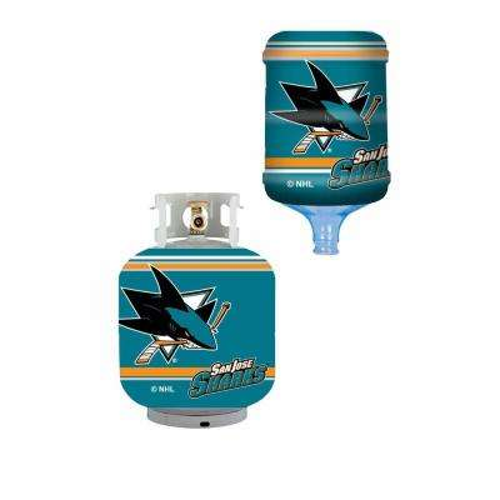 San Jose Sharks Propane Tank Cover/5 Gal. Water Cooler Cover