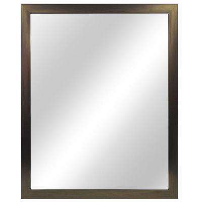 24 in. W x 30 in. L Framed Fog Free Wall Mirror in Oil Rubbed Bronze