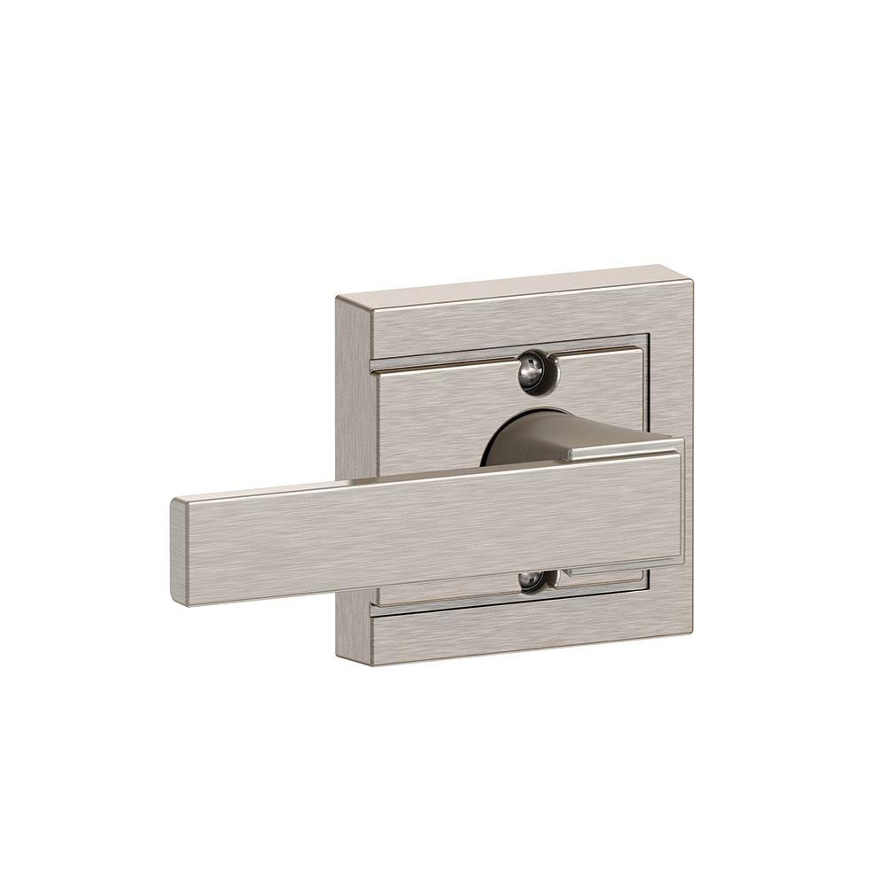 Northbrook Satin Nickel with Upland Trim Non-Turning Lever