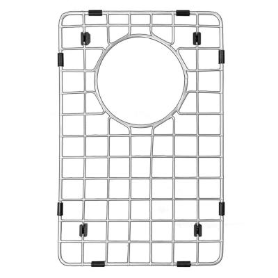 14 in. x 9 in. Stainless Steel Bottom Grid Fits Small Bowl On QT-721 and QU-721