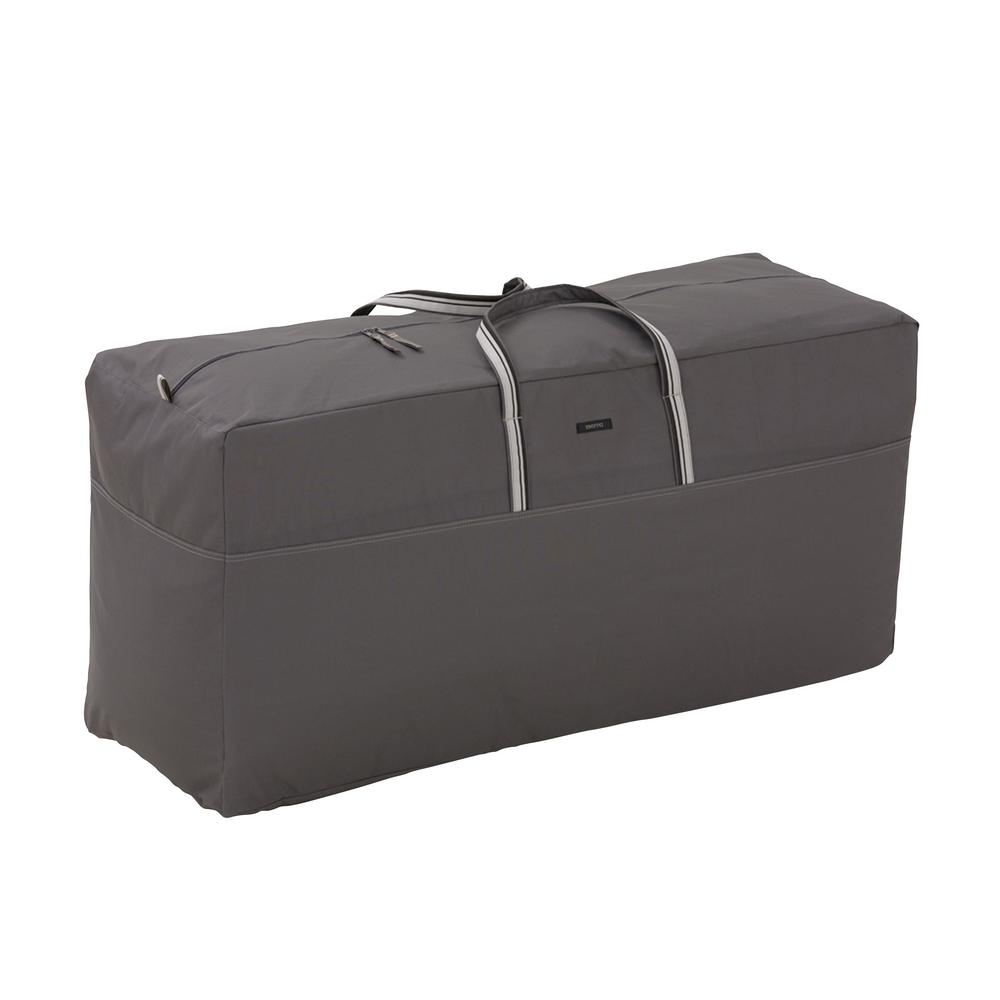 Classic Accessories Ravenna 62 in. L x 22 in. W x 30 in. H Oversized Cushion and Cover Storage Bag