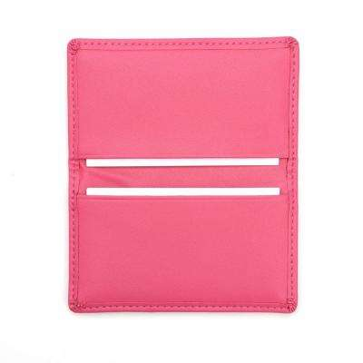 Wildberry Business Card Case in Genuine Leather