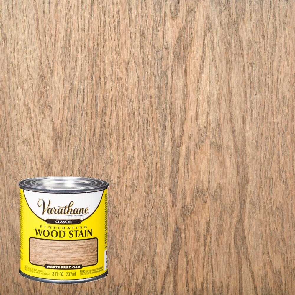 Varathane 8 oz. Weathered Oak Classic Wood Interior Stain